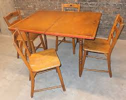 Pine Kitchen Tables And Chairs by Vintage Kitchen Table Zeppy Io