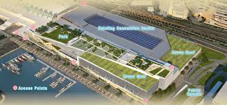 Home Design Center San Diego by Proposed San Diego Convention Center Expansion Roof Top Park
