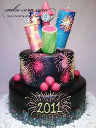 Cake Decorations For New Year by 41 Best New Year U0027s Eve Cakes Images On Pinterest New Year U0027s Cake
