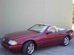 convertible mercedes 2000 2000 mercedes benz sl500 for sale classiccars com cc 981829