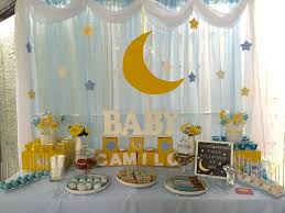 backdrop for baby shower table twinkle little star cand dessert table baby shower party ideas