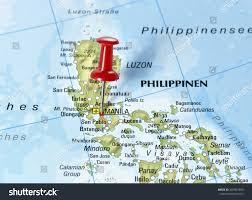 san jose mindoro map map philippines pin set on manila stock photo 403901800