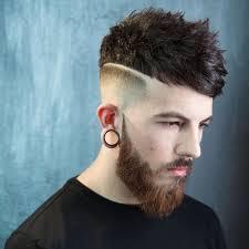 coupe de cheveux homme fris coupe de cheveux homme dégradé avec trait comment l adopter