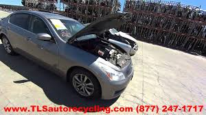 parting out 2009 infiniti g37 stock 5094yl tls auto recycling