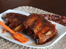 easy baked pork spareribs with homemade sauce