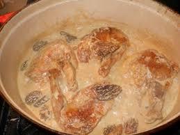 cuisiner une pintade suprêmes de pintade aux morilles la cuisine de papada