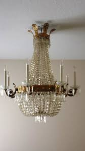 Bronze And Crystal Chandeliers Gorgeous Estate French Empire Bronze And Crystal Chandelier Sale