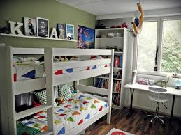 shelf above bunk bed for boys room for books teddies also like