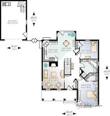house plans with kitchen in front house plan w3207 detail from drummondhouseplans