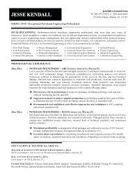sample industrial engineer resume reservoir engineer sample resume