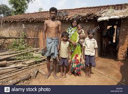 tribal family santhal tribe jarkatand bokaro district
