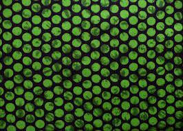 Halloween Quilt Fabric by Green Quilt Fabric Maywood Studio 87101 Emperors Garden Green