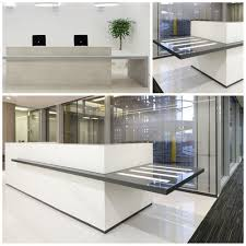 Modern Reception Desks by Modern Reception Desk Office Counter Table Design Buy Modern