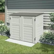 Plastic Outdoor Storage Cabinet Suncast Outdoor Storage Horizontal Storage Shed Suncast Outdoor