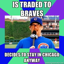 Chicago Cubs Memes - meet your new 2012 cubs long man mr ryan dempster goat riders