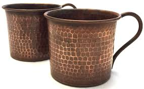 moscow mule mugs solid copper moscow mule mugs hammered medium patina