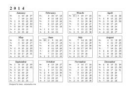 2014 printable calendar templates