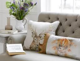 Stag Cushions Animal Magic