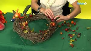 thanksgiving wreaths to make how to make a thanksgiving wreath youtube