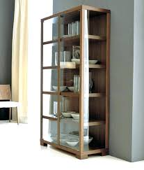 wood and glass cabinet wooden glass cabinet exmedia me