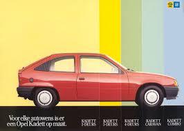 kadett opel 1975 opel brochure