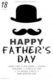 customizable design templates for fathers day flyer postermywall