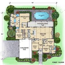Tuscan Villa House Plans by 22 Best 2 Story Floor Plans W Courtyard Images On Pinterest