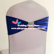 Royal Blue Chair Sashes High Quality Royal Blue Chair Sashes Promotion Shop For High