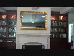 Mirror Film For Walls Mirror Tv Youtube
