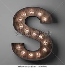 letter s sign light bulbs stock illustration 187599485 shutterstock