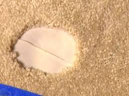Leftover Carpet Into Rug How To Repair Carpet How Tos Diy