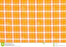 scottish tartan pattern orange with white plaid print as