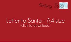 printable santa letters to santa christmas letter to santa with free printable tiny little