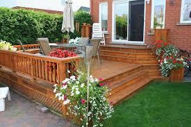 Patio Deck Ideas Backyard Backyard Patios And Decks