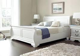 European Bed Frames European Bed Frame Louie Sleigh Bed Polar White New Are Bed Frames