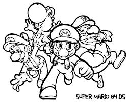 super mario luigi coloring pages download u0026 print