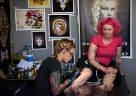 photos of the london international tattoo convention 2016 at