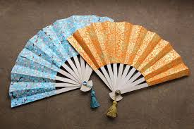 how to make a paper fan how to make japanese fans diy paper crafts sad to happy project