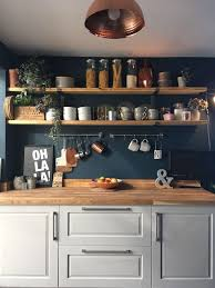 blue kitchen cabinets grey walls 25 blue and grey kitchen designs that inspire digsdigs
