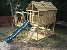 Wood Backyard Playsets by Best 20 Wooden Playset Ideas On Pinterest Backyard Playground