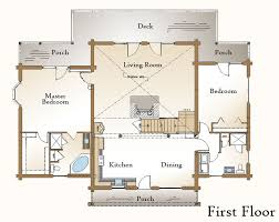 log home floor plans with basement looking log home floor plans with basement open kitchen living