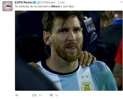 Memes Sobre Messi - when messi is banned for the remaining marca english