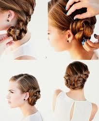 chignon mariage facile a faire coiffure simple pour soirée