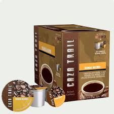Blend K Cups Caza Trail Kona Blend Coffee Single Serve Cups K Cup Compatible