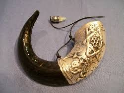 anointing shofar yemenite and rams horn anointing shofar