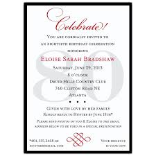 75th birthday invitation wording samples