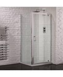 glass pivot shower door aquadart venturi 6 pivot shower door 760mm