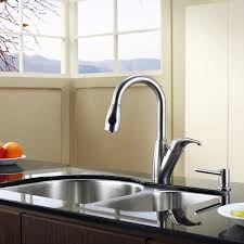 stainless steel kitchen faucet faucet kbu21 in stainless steel by kraus