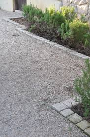 crushed stone idea for walking path to the front door landscape
