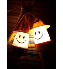 amazon com smile led lantern portable night light for kids